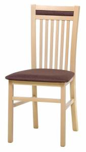 Καρέκλα Wallace-Φυσικό - Καφέ
