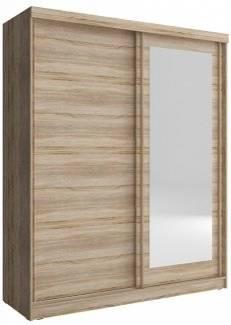 Ντουλάπα συρόμενη Bellamy-150 x 62 x 200 εκ.-Φυσικό