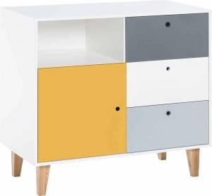 Συρταριέρα Concept-Κίτρινο