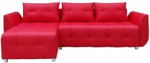 Γωνιακός καναπές Marten-Κόκκινο