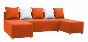 Γωνιακός καναπές Felipe-Πορτοκαλί