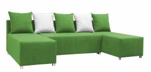 Γωνιακός καναπές Felipe-Πράσινο