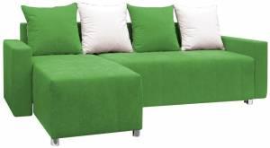 Γωνιακός καναπές Odette-Πράσινο