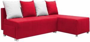 Γωνιακός καναπές Ezio-Κόκκινο