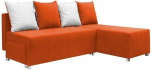 Γωνιακός καναπές Ezio-Πορτοκαλί