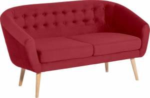 Καναπές Alma διθέσιος-Κόκκινο