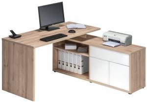 Γραφείο Brill-Φυσικό - Λευκό