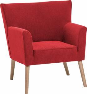 Πολυθρόνα Zouk-Κόκκινο