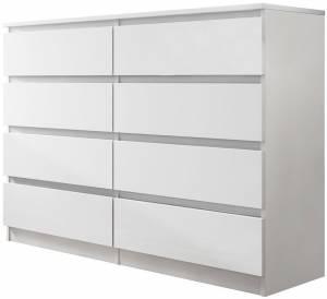 Συρταριέρα Malwa IV-Λευκό