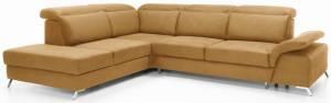 Γωνιακός καναπές Milani-Δεξιά-Moustardi