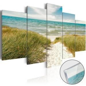 Πίνακας σε ακρυλικό γυαλί - Sea Melody [Glass] - 200x100