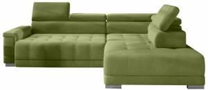 Γωνιακός καναπές Carmel-Prasino-Δεξιά