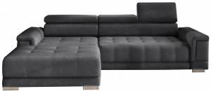 Γωνιακός καναπές Carmel mini-Gkri Skouro-Αριστερή
