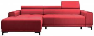 Γωνιακός καναπές Victor mini-Kokkino-Αριστερή