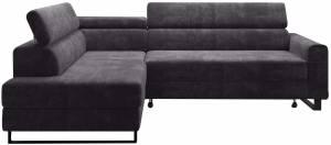 Γωνιακός καναπές Lorain-Grafitis-Αριστερή