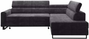 Γωνιακός καναπές Lorain-Grafitis-Δεξιά