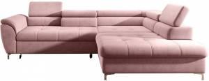 Γωνιακός καναπές Thora-Roz-Δεξιά