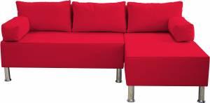 Γωνιακός καναπές Apollo-Kokkino