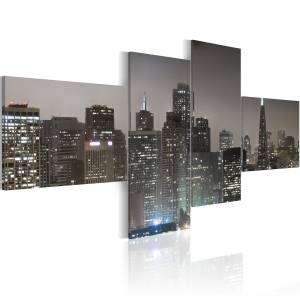 Πίνακας - San Francisco by night 200x90