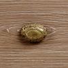 ΚΟΝΣΟΛΑ ΜΕ ΚΑΘΡΕΠΤΗ ΠΑΤΙΝΑ ΕΚΡΟΥ-ΚΑΦΕ 75x40x143