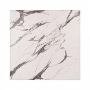 ΕΠΙΦΑΝΕΙΑ ΤΡΑΠΕΖΙΟΥ WERZALIT 70Χ70 MARBLE WHITE-GREY 5657 HM5230.11