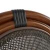 ΚΑΡΕΚΛΑ ΑΛΟΥΜΙΝΙΟΥ BAMBOO LOOK ΚΑΦΕ ΜΕ TEXTLINE HM5026