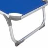 ΞΑΠΛΩΣΤΡΑ ΠΑΡΑΛΙΑΣ HM5054.01 ΒΑΡΕΩΣ ΤΥΠΟΥ ΜΠΛΕ ΑΛΟΥΜΙΝΙΟΥ