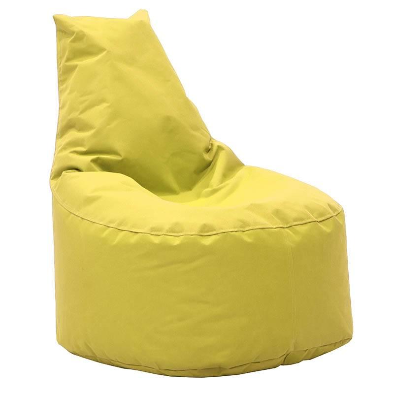Πουφ πολυθρόνα Norm υφασμάτινο αδιάβροχο κίτρινο