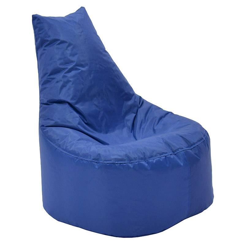 Πουφ πολυθρόνα Norm PRO επαγγελματικό 100% αδιάβροχο μπλε