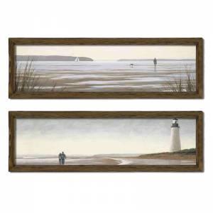 Πίνακας σε mdf PWF-0210 pakoworld με ξύλινο πλαίσιο-ψηφιακή εκτύπωση 2πτυχο