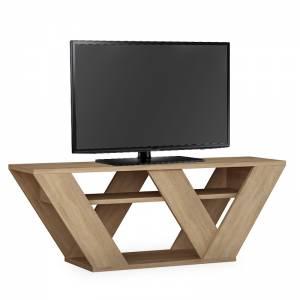Έπιπλο τηλεόρασης Pipralla pakoworld φυσικό 110x40x30εκ