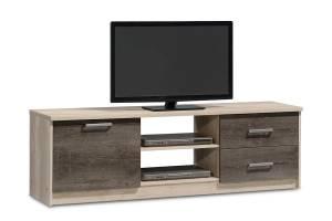 Έπιπλο τηλεόρασης OLYMPUS χρώμα castillo-toro 160x39,5x50,5εκ