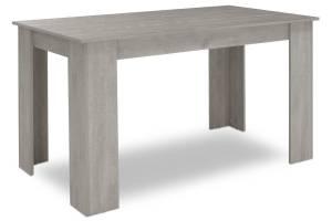 Τραπέζι Jason pakoworld χρώμα white wash 150x80x76,5εκ