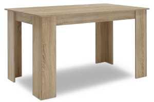 Τραπέζι Jason pakoworld χρώμα sonoma 150x80x76,5εκ