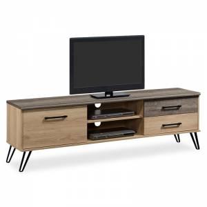 Έπιπλο τηλεόρασης Bruno pakoworld χρώμα viscount - toro 182x40x56,5εκ