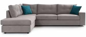 Γωνιακός καναπές -Gkri Anoixto-Αριστερή