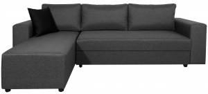 Γωνιακός καναπές -Gkri Skouro-Δεξιά