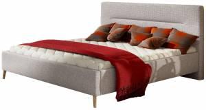 Επενδυμένο κρεβάτι 180 x 200-Gkri Anoixto