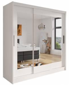 Ντουλάπα συρόμενη με καθρέπτη