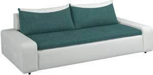 Καναπές - κρεβάτι Petrol-Leuko