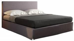 Επενδυμένο κρεβάτι 180 x 200-Χωρίς μηχανισμό ανύψωσης