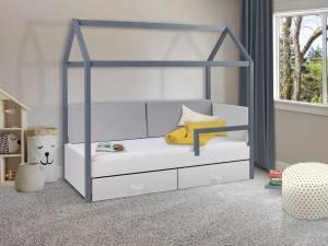 Κρεβάτι παιδικό Leuko-Gkri