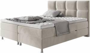 Επενδυμένο κρεβάτι Mpez-140 x 200