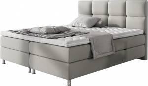 Επενδυμένο κρεβάτι Gkri Anoixto-140 x 200