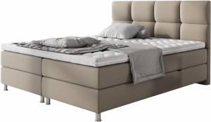 Επενδυμένο κρεβάτι Mocca-160 x 200
