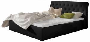 Επενδυμένο κρεβάτι Mauro-Χωρίς μηχανισμό ανύψωσης-140 x 200
