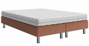 Επενδυμένο κρεβάτι Kafe Anoixto-200 x 140 x 30