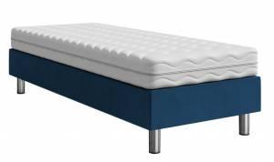 Επενδυμένο κρεβάτι Mple-200 x 90 x 30