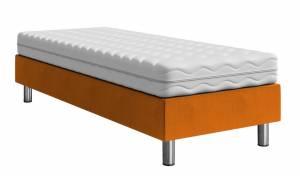 Επενδυμένο κρεβάτι Portokali-200 x 80 x 30