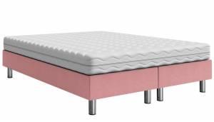Επενδυμένο κρεβάτι Roz-200 x 140 x 30